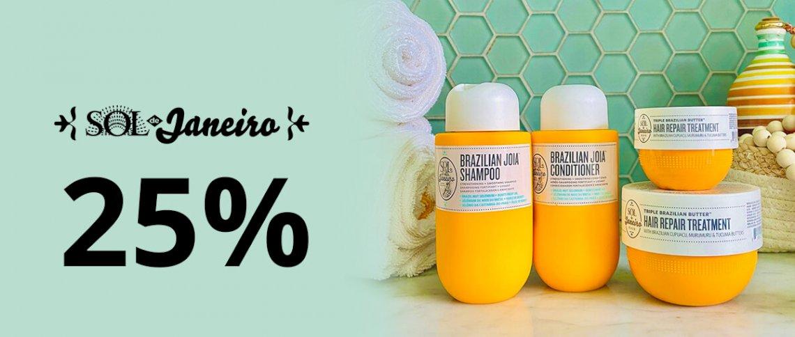 Spar 25% på Sol De Janeiro