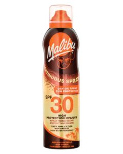 Malibu Continuous Dry Oil Sun Spray SPF30 175ml