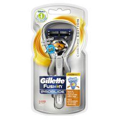 Gillette Fusion Proglide Flexball Chrome Edition Razor m. 2 blade