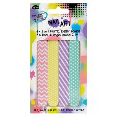 Npw Nail Art Files - Pastel Emery Boards