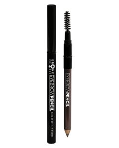 Bronx Eyebrow Pencil 04 Dark Brown