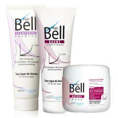 HairBell Shampoo + Conditioner + Mask