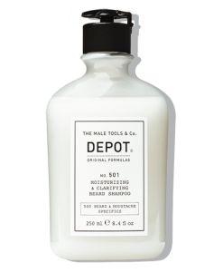 Depot No. 501 Moisturizing & Clarifying Beard Shampoo 250 ml