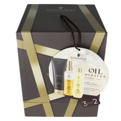 BC Bonacure X-MAS Box Oil Miracle Light (Shamp, Liquid Oil Cond, Treatment Light)