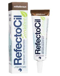 RefectoCil Sensitive Eyelash And Eyebrow Tint Medium Brown 15ml