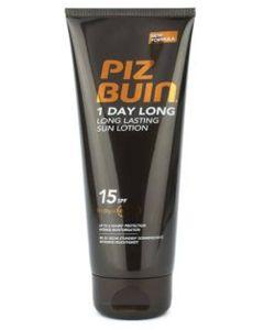 Piz Buin 1 Day Long Lasting Sun Lotion SPF15 100ml