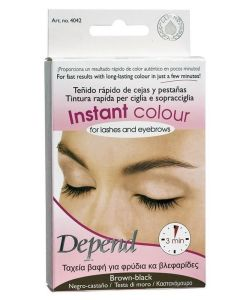 Depend Instant Colour For Lashes And Eyebrows - Brown-Black - Art. 4042 5 ml