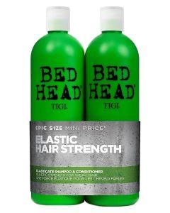TIGI Bed Head Elasticate Strenght Shampoo+Conditioner (U. Pumpe) 750 ml