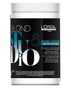 Loreal Blond Studio Multi-Techniques Lightening Powder 8