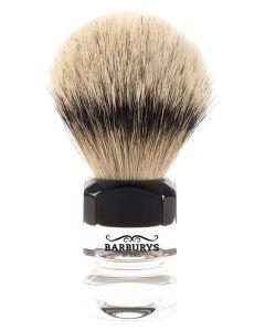 Barburys Shaving Brush - Silver Diamond