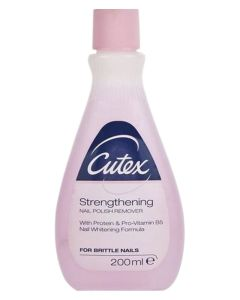 Cutex Strengthening Nail Polish Remover 200 ml