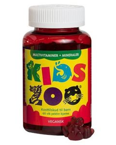Kids Zoo Multivitaminer + Mineraler Vegansk