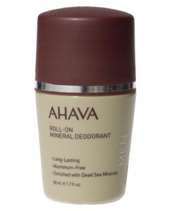 AHAVA Mens Roll-On Mineral Deodorant 50ml