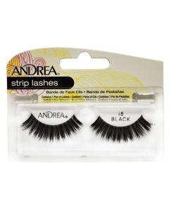 Andrea Strip Lashes Black 18