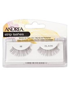 Andrea Strip Lashes Black 52