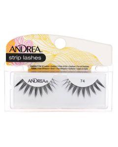 Andrea Strip Lashes Black 74