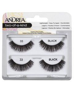 Andrea Two-Of-A-Kind Lashes Black 33