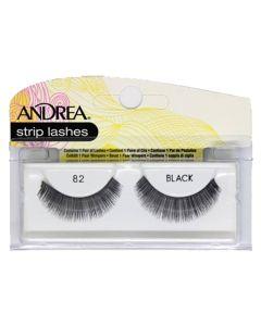 Andrea Strip Lashes Black 82