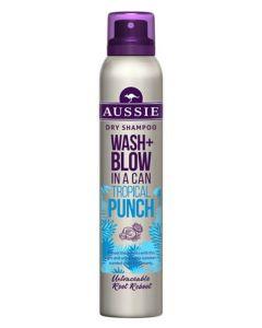 Aussie Wash + Blow Tropical Punch Dry Shampoo 180 ml