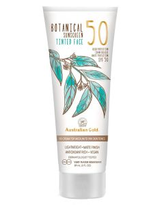 Australian Gold Botanical Sunscreen Tinted Face BB Cream Medium SPF50