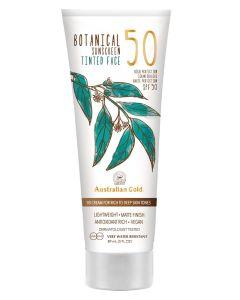 Australian Gold Botanical Sunscreen Tinted Face BB Cream Tan SPF50