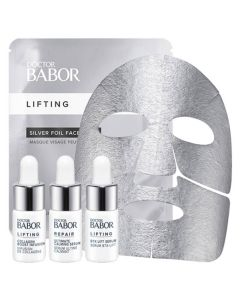 Doctor Babor Lifting Cellular Costomized  Silver Foil Face Mask