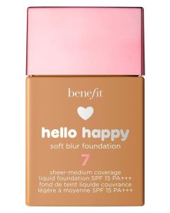 Benefit Hello Happy Soft Blur Foundation 7 SPF 15 30ml