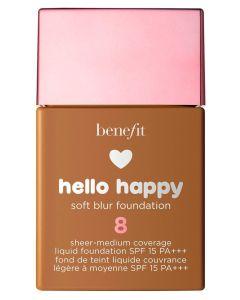Benefit Hello Happy Soft Blur Foundation 8 SPF 15