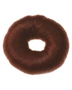 Sibel Hair Donut Ø8cm Rød/Brun Ref. 0910832-45