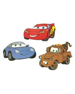 Disney DecoFun Cars Foam Wall Decoration