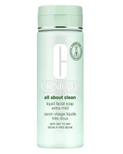 Clinique Liquid Facial Soap - Extra Mild - Very Dry To Dry 200 ml