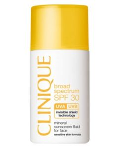 Clinique Mineral Sunscreen Fluid For Face SPF30
