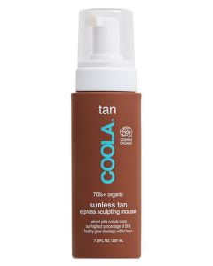 Coola Tan Sunless Tan Express Sculpting Mousse 207ml