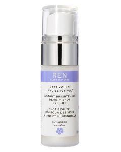 REN Keep Young And Beautiful - Instant Brightening Beauty Shot Eye Lift 15ml