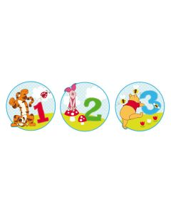 Disney DecoFun Winnie the Pooh Wall Decorations