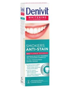 Denivit Tandpasta - Smokers Anti-Stain