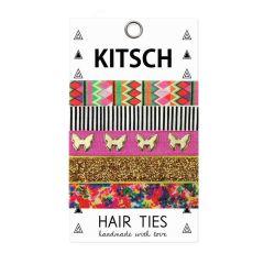 KITSCH - Wonderland Hair Ties - 5 stk