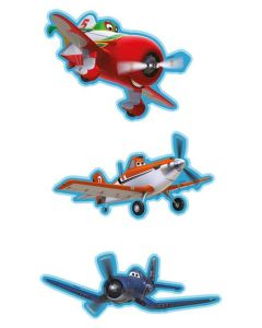Disney DecoFun Planes Wall Decorations