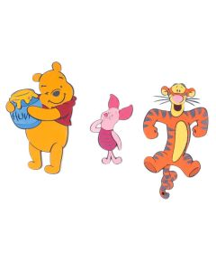 Disney DecoFun Tigger & Pooh Wall Decorations