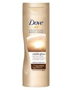 Dove Visible Glow self-tan lotion medium-dark skin 250ml