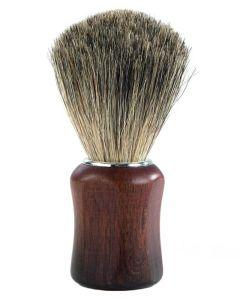 Barburys Shaving Brush - Grey Walnut