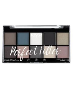 NYX Perfect Filter Shadow Palette - Gloomy Days 04
