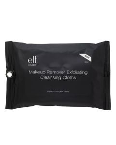 Elf Makeup Remover Exfoliating Cleansing Cloths (85051)