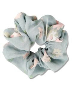 Everneed Scrunchie Flower Baby Blue