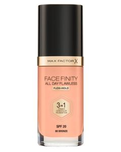 Max Factor Facefinity 3-in-1 Foundation Bronze 80 - 30 ml