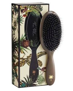 Fan Palm Hair Brush Medium Mink
