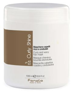 Fanola Curly Shine Curly And Wavy Hair Mask 1000ml