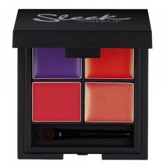 Sleek MakeUP Lip 4 Lipstick Palette - Mardi Gras 5,4g