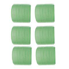 Velcrocurler Grøn 61mm 6er
