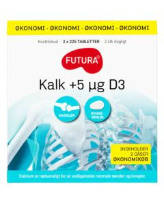 Futura Kalk + 5µg D3